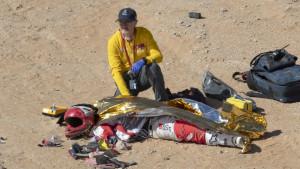 Dramatične fotografije sa tragične nesreće na reliju Dakar