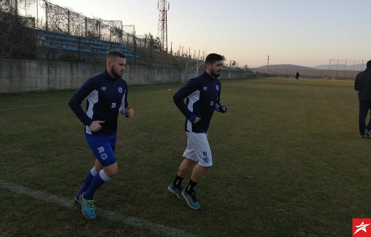 Plavi odradili još jedan trening, Zec i Žerić nizali krugove