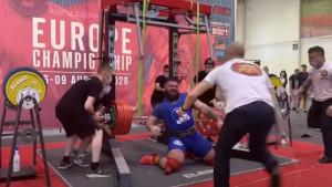 Čovjek je samo zavrištao od bolova: Stravične scene pri pokušaju dizanja težine od 400 kilograma