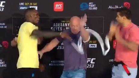 Dobro se zakuhalo pred borbu za UFC prvaka: Isprašit ću ti du*e!