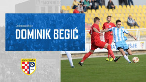 Dominik Begić se vratio u HŠK Posušje