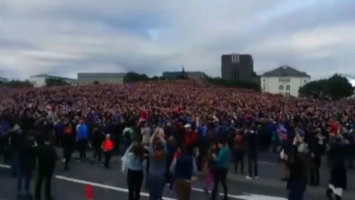 Veliko slavlje na Islandu