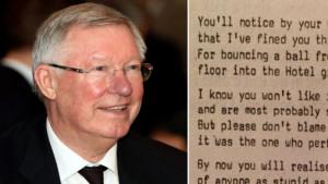 Niko kao Ferguson: Kaznio igrače, pa napisao pjesmu da im to saopšti
