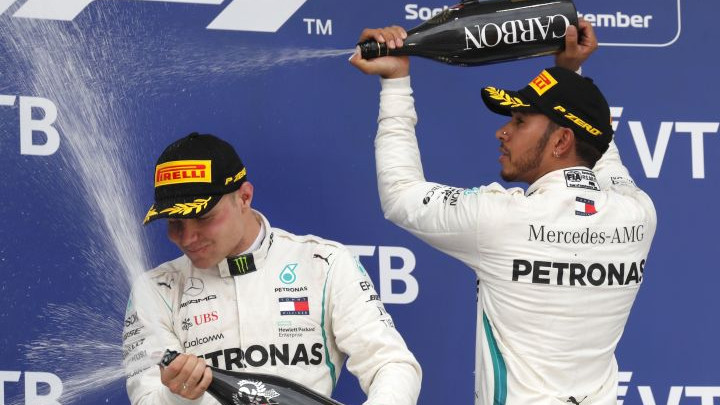 Hamilton: Bottas je pravi džentlmen jer me je propustio