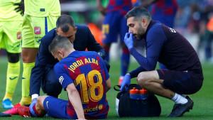 Alba u suzama napustio meč protiv Getafea, nekoliko sati kasnije se obistinile sumnje