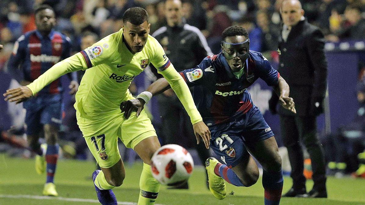 Barcelona izgubila od Levantea, ali na kraju je dobro prošla