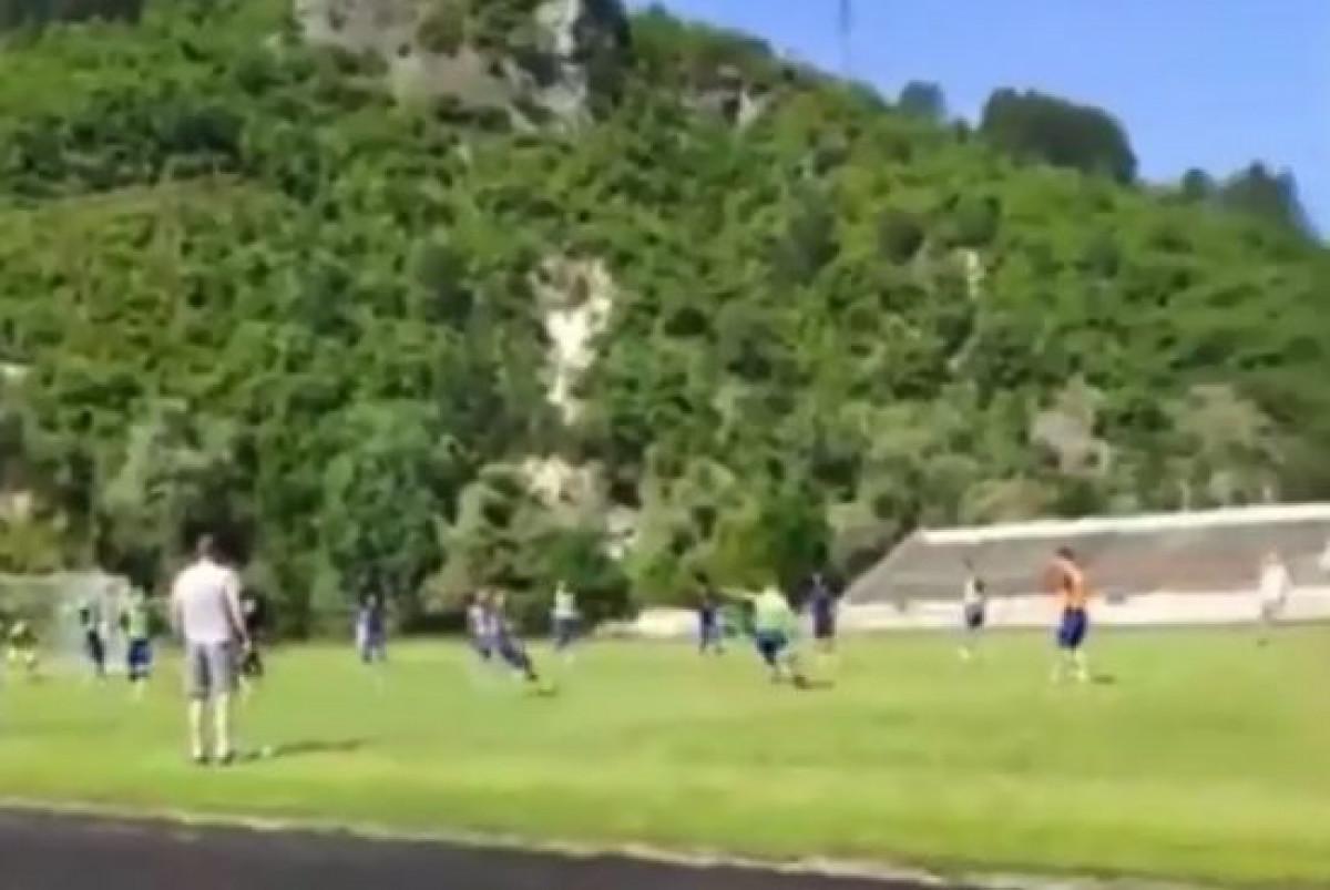 """Stanić zabio gol na treningu, pa prozvao bivšeg igrača Željezničara: """"Evo gledaj kako treba"""""""