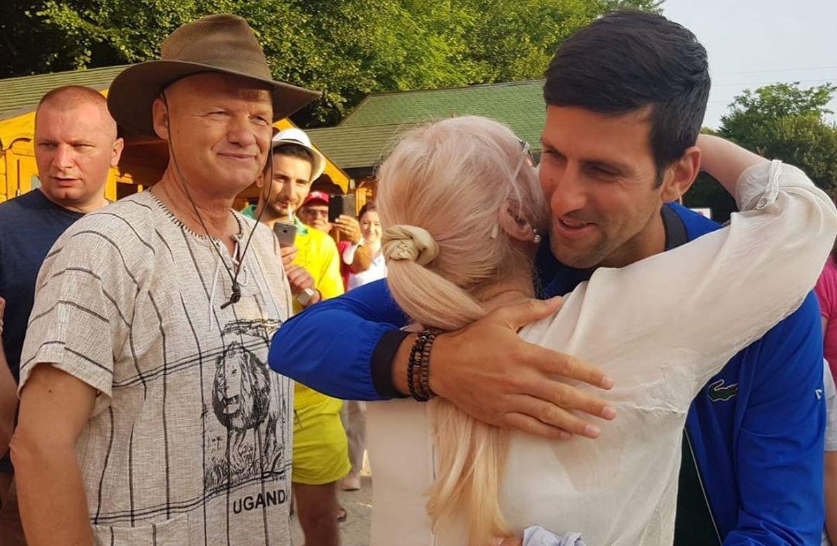 Novak Đoković je u Visokom želio da upozna posebnu osobu i ta želja mu je ispunjena