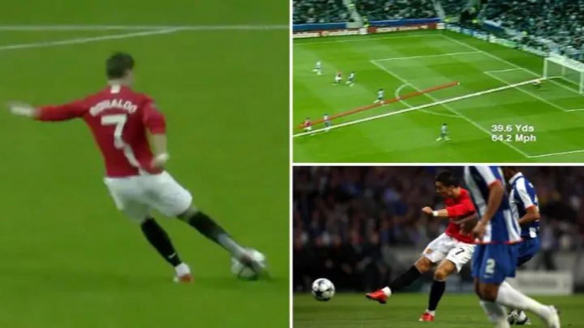 Cristiano Ronaldo je prije tačno 12 godina zabio golčinu koju je kopirao sebi na CD