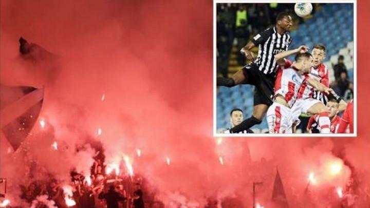 Hiljade navijača, baklje i 102 minute fudbala: Partizan savladao Zvezdu za finale Kupa Srbije!