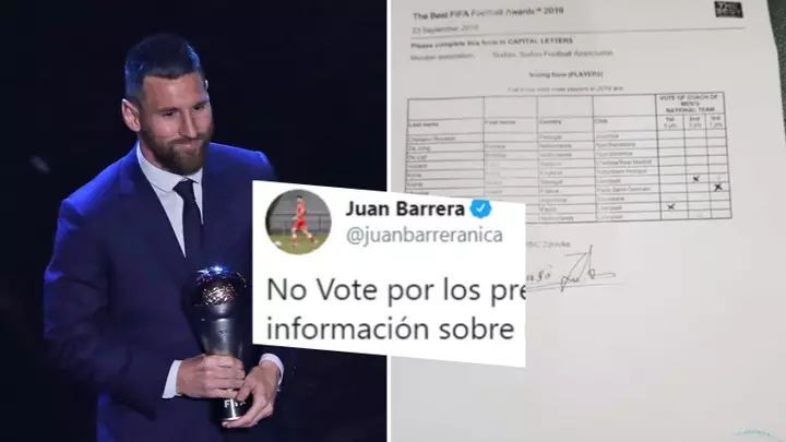 FIFA se oglasila nakon optužbi da su lažirani glasovi za Lionela Messija