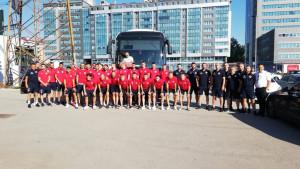 Borac u Sloveniji, Maksimović poveo 32 nogometaša