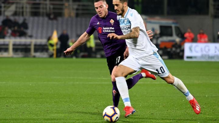 Lazio bio bolja ekipa na terenu, ali je Fiorentina ipak uspjela osvojiti bod