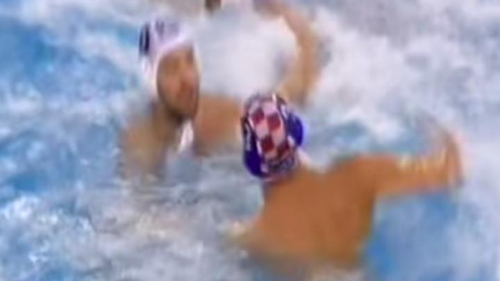 Nokaut u bazenu u duelu Srbije i Hrvatske