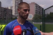 Radinović: Naježio sam se kada sam izašao na teren