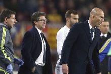 Zidane i žvaka protiv Barcelone