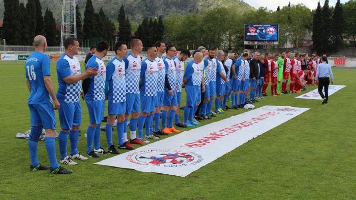 Bivši asovi Hrvatske igrali u Mostaru