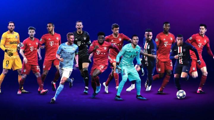 UEFA odabrala najbolje: Po trojica za svaku liniju tima!
