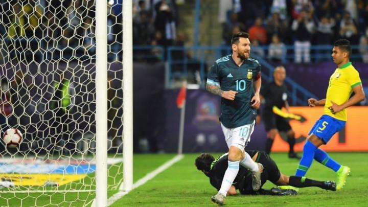 Messi za pobjedu Argentine nad Brazilom