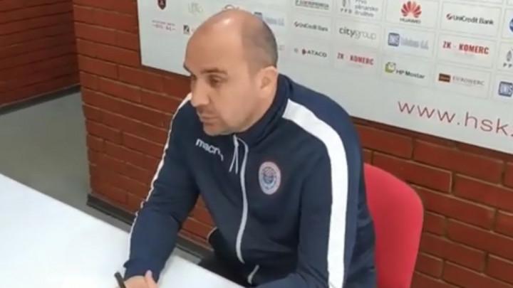 Žižović: Da je danas utakmica, Bilbija i Filipović ne bi igrali