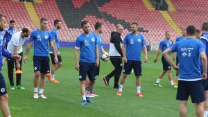 Reprezentativci BiH u opuštenoj atmosferi odradili trening na Bilinom polju