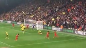Salahova majstorija iz drugog ugla: Fudbalska umjetnost i savršenstvo u jednom potezu