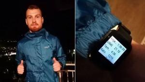 Među rijetkima u svijetu: Bosanac Emir Hastor na terasi uspio istrčati polumaraton