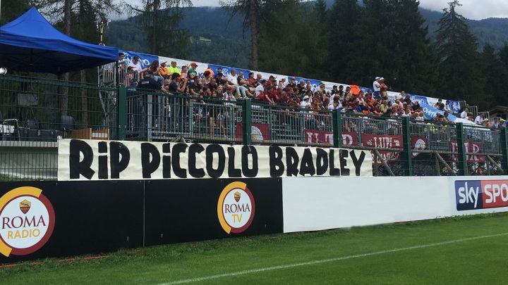 Navijači Rome odali počast malom Bradleyju