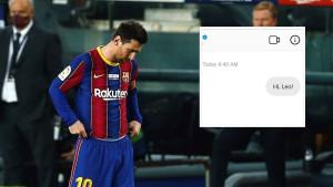"Iz moskovskog Spartaka se ""javili"" Messiju na Instagramu i dobili brutalan odgovor"