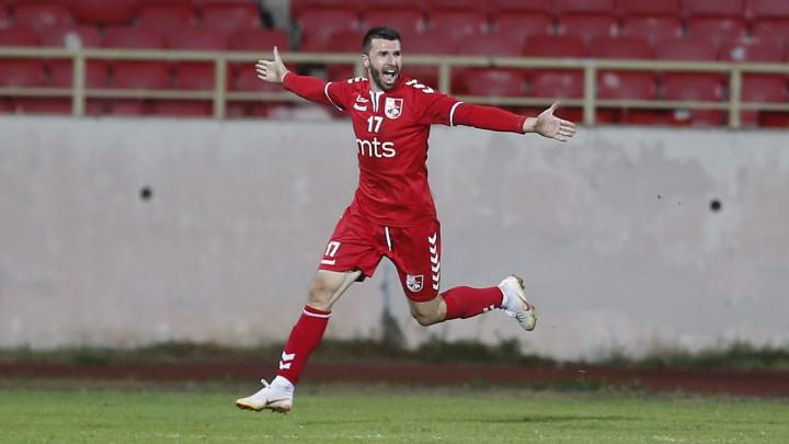 Novi gol Nermina Haskića, ponovo je prvi strijelac u Srbiji