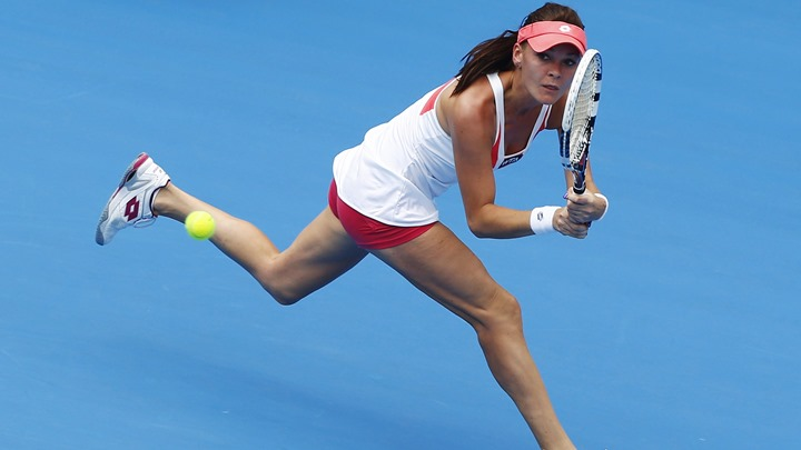 Radwanska sigurna, Strycova bolja od Wozniacki