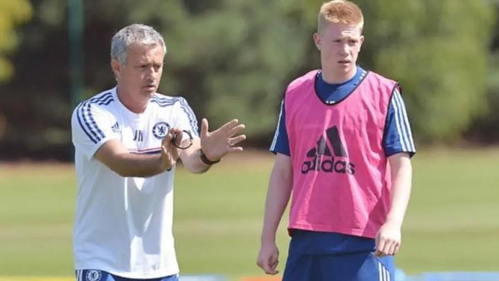 """De Bruyne otkrio kako ga je Mourinho otjerao iz Chelseaja: """"Izvadio je papir i čitao mi statistike"""""""