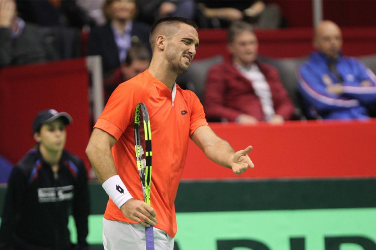 Šta uradi crni Viktore? Srbijanski teniser vodio sa 6:1, 5:1, 40:15 i izgubio meč