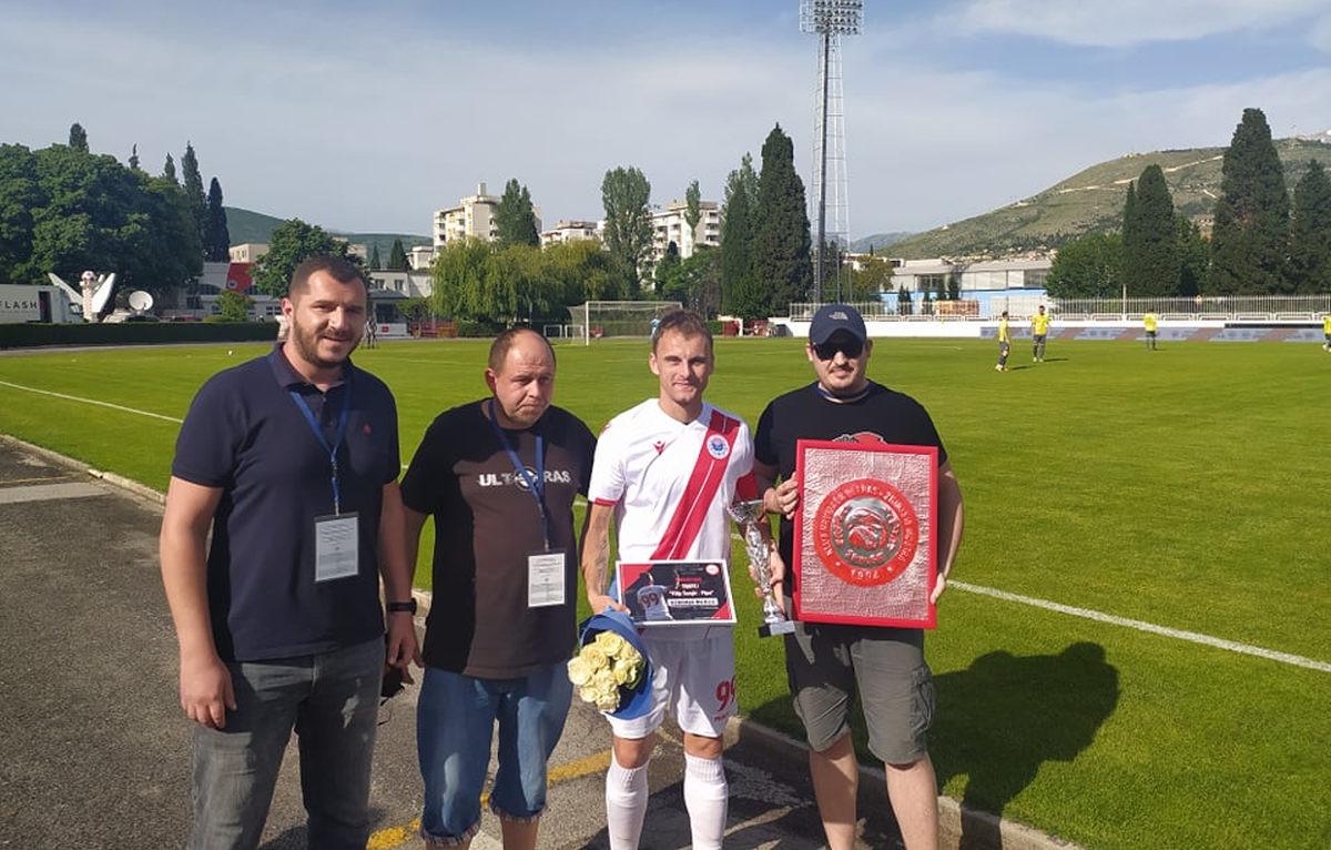 "Nemanja Bilbija dobitnik trofeja ""Filip Šunjić - Pipa"""