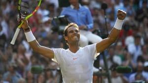 Nadal bez izgubljenog seta do četvrtfinala Wimbledona
