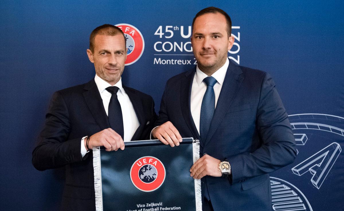 Čeferin dolazi u BiH, Zeljković zadovoljan susretom s prvim čovjek UEFA-e