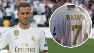 """Navijač Real Madrida naručio dres Edena Hazarda, a on stigao s """"pogrešnim"""" brojem"""