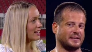 """Šou Nenada Lalatovića s novinarkom nakon pobjede protiv Partizana: """"Znam da navijaš za njih..."""""""