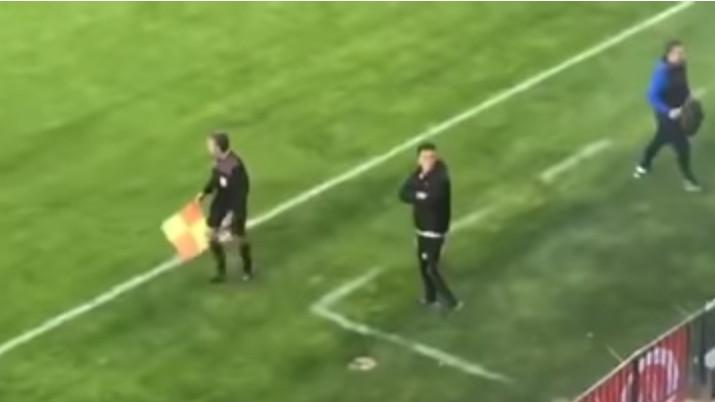 Bivši trener Željezničara ne može bez incidenata: Gledam da te zapamtim, sačekaj me poslije utakmice