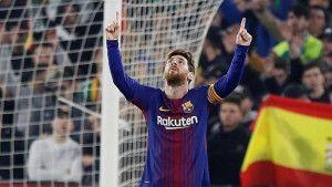 Barcelona se poigrala sa Betisom