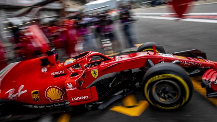 Vettel najbrži pred kvalifikacije za VN Belgije