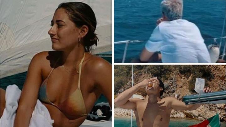 Mourinhov zamišljeni pogled s jahte nikome nije interesantan, ali njegova kćerka...