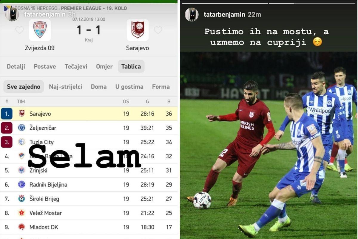 I zbog ovih objava sarajevski derbi je više od utakmice