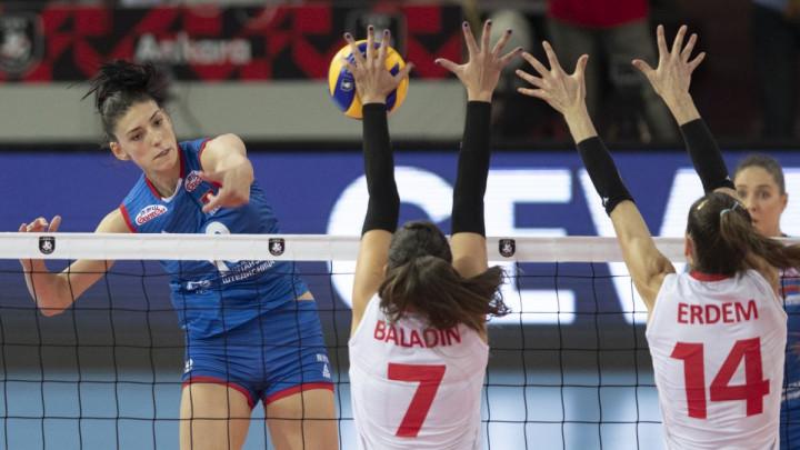 Odbojkašice Srbije prvakinje Evrope!