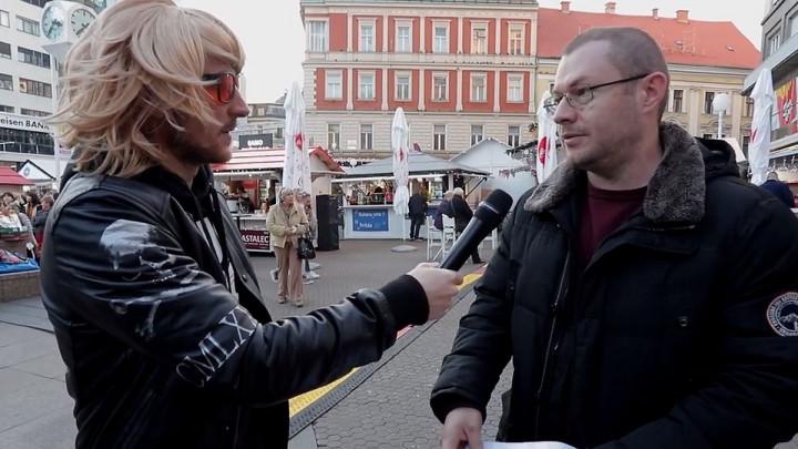 Izet Hajrović se maskirao i napravio šou u centru Zagreba
