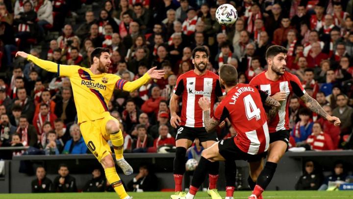 Novi šok za Barcelonu: Athletic Bilbao golom u 93. minuti prošao u polufinale Kupa Kralja