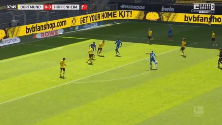 Majstorija Kramarića za vodstvo Hoffenheima protiv Borussije Dortmund