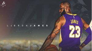 LeBron James i zvanično u Lakersima