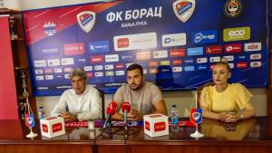 """FK Borac predstavio novog trenera: """"Treći put i Bog pomaže"""""""