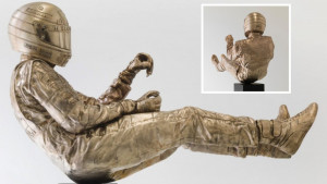 """Najekstremnija krivina F1: Ayrton Senna """"oživio"""" u bronzanoj statui od 160 kilograma"""